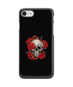 Red Rose Skull for Nice iPhone 8 Case Cover