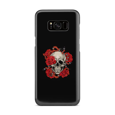 Red Rose Skull for Personalised Samsung Galaxy S8 Plus Case