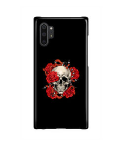 Red Rose Skull for Stylish Samsung Galaxy Note 10 Plus Case Cover