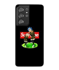 Rick and Morty Supreme for Beautiful Samsung Galaxy S21 Ultra Case Cover