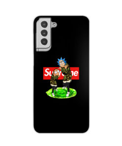 Rick and Morty Supreme for Best Samsung Galaxy S21 Plus Case