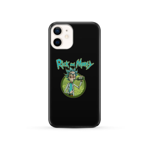 Rick Morty for Newest iPhone 12 Case Cover