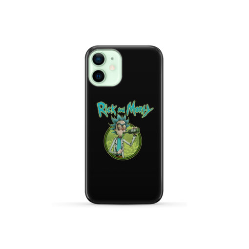 Rick Morty for Personalised iPhone 12 Mini Case Cover