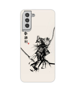 Samurai Japanese Warrior Flowers for Simple Samsung Galaxy S21 Plus Case Cover