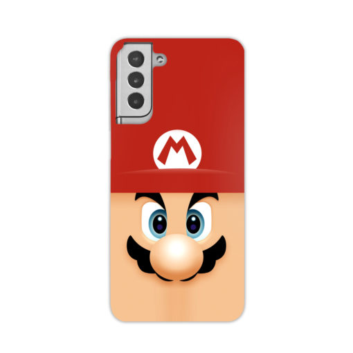 Super Mario Face for Best Samsung Galaxy S21 Plus Case Cover