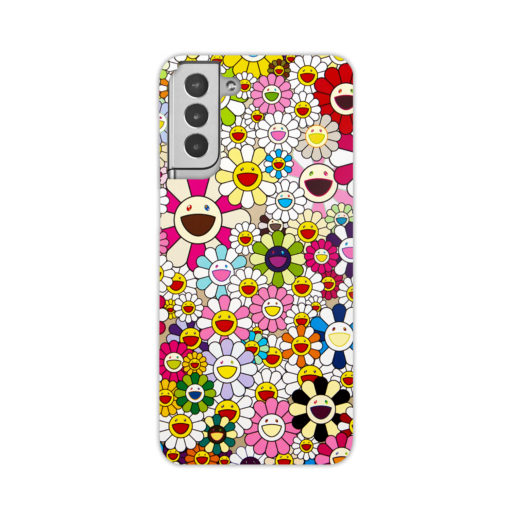 Takashi Murakami Flowers for Best Samsung Galaxy S21 Plus Case Cover
