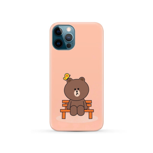 Teddy Bear Cartoon for Beautiful iPhone 12 Pro Case Cover