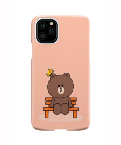 Teddy Bear Cartoon for Cool iPhone 11 Pro Case Cover