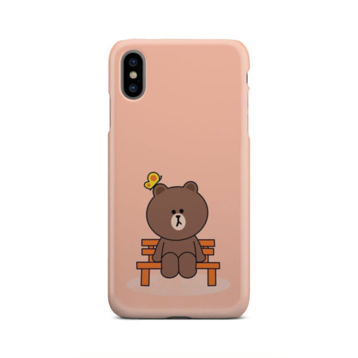 Teddy Bear Cartoon for Cool iPhone XS Max Case Cover