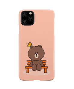 Teddy Bear Cartoon for Newest iPhone 11 Pro Max Case