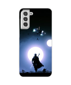 The Mandalorian Poster for Newest Samsung Galaxy S21 Case Cover