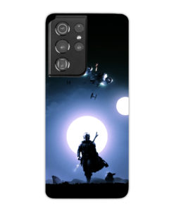 The Mandalorian Poster for Unique Samsung Galaxy S21 Ultra Case Cover
