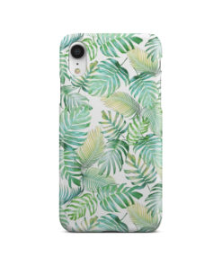 Tropical Palm Leaves for Amazing iPhone XR Case