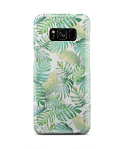 Tropical Palm Leaves for Beautiful Samsung Galaxy S8 Case Cover