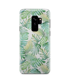 Tropical Palm Leaves for Beautiful Samsung Galaxy S9 Plus Case