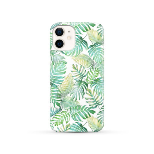 Tropical Palm Leaves for Best iPhone 12 Case