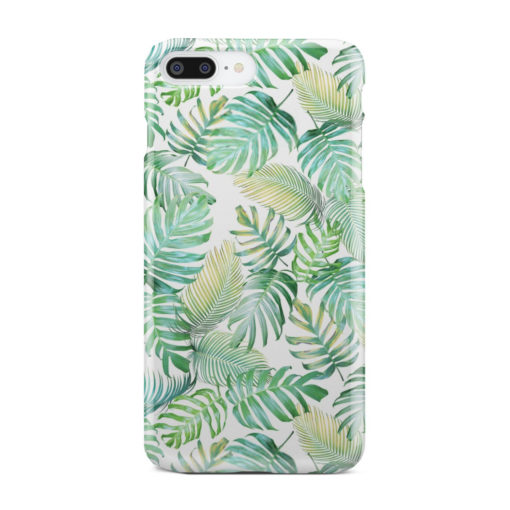 Tropical Palm Leaves for Best iPhone 7 Plus Case