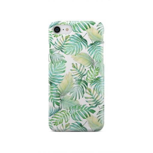 Tropical Palm Leaves for Cool iPhone SE 2020 Case