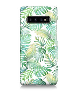 Tropical Palm Leaves for Custom Samsung Galaxy S10 Case Cover