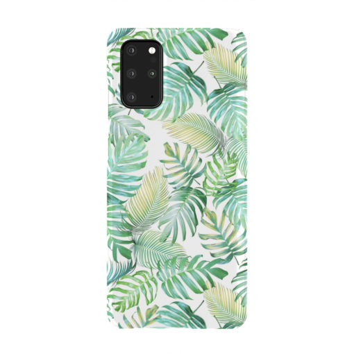 Tropical Palm Leaves for Customized Samsung Galaxy S20 Plus Case