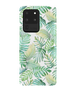 Tropical Palm Leaves for Customized Samsung Galaxy S20 Ultra Case Cover
