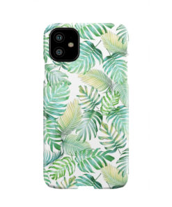 Tropical Palm Leaves for Nice iPhone 11 Case Cover