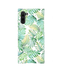 Tropical Palm Leaves for Nice Samsung Galaxy Note 10 Case