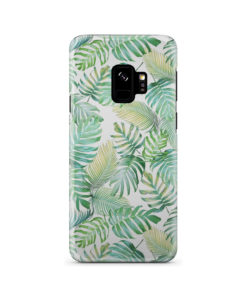 Tropical Palm Leaves for Personalised Samsung Galaxy S9 Case Cover