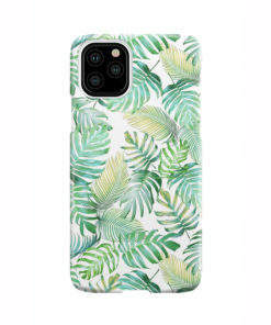 Tropical Palm Leaves for Stylish iPhone 11 Pro Case