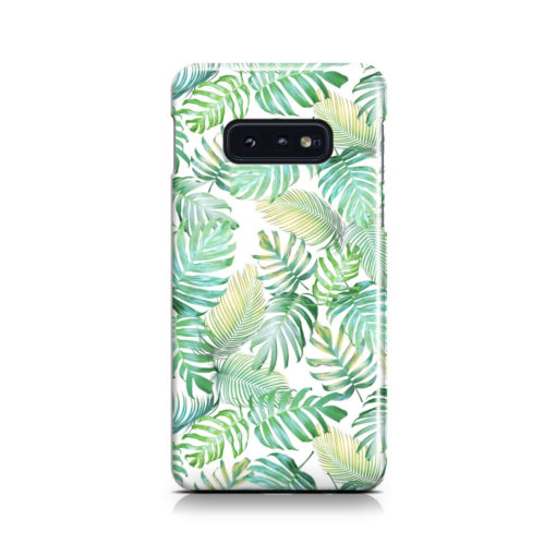 Tropical Palm Leaves for Stylish Samsung Galaxy S10e Case Cover
