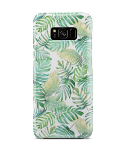 Tropical Palm Leaves for Stylish Samsung Galaxy S8 Plus Case Cover