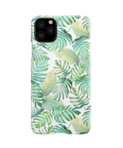 Tropical Palm Leaves for Trendy iPhone 11 Pro Max Case Cover