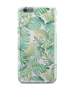 Tropical Palm Leaves for Trendy iPhone 6 Plus Case Cover