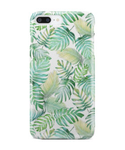 Tropical Palm Leaves for Trendy iPhone 8 Plus Case