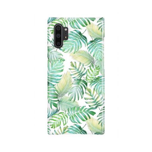 Tropical Palm Leaves for Trendy Samsung Galaxy Note 10 Plus Case