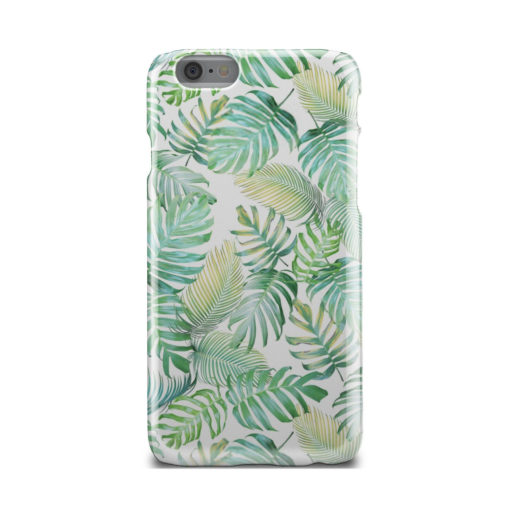 Tropical Palm Leaves for Unique iPhone 6 Case Cover